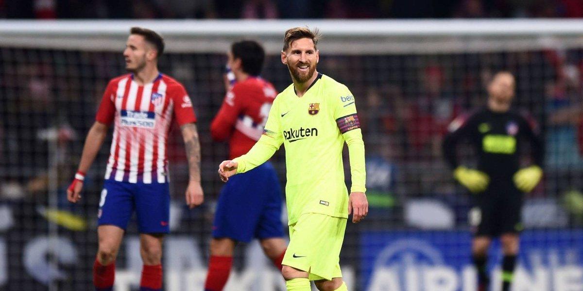 Dembelé salva al Barça de la derrota ante el Atlético de Madrid