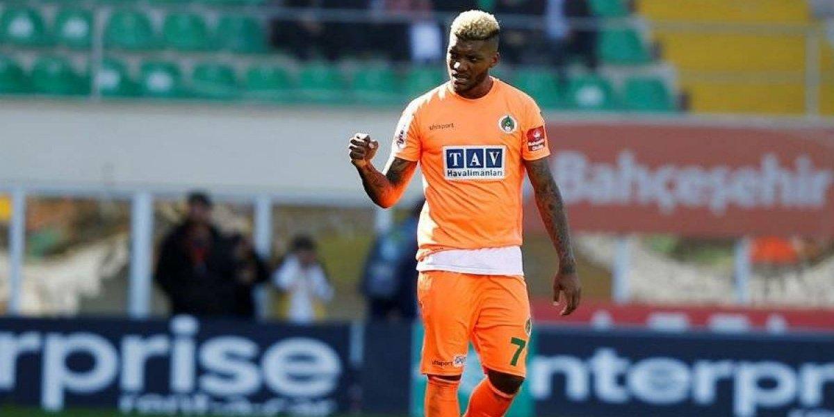 Junior Fernandes renace en Turquía con un gol en goleada del Alanyaspor