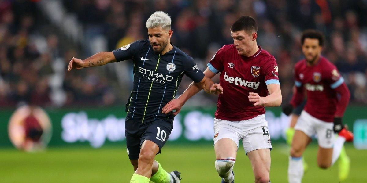 Manchester City goleó al West Ham del 'Chicharito' Hernández