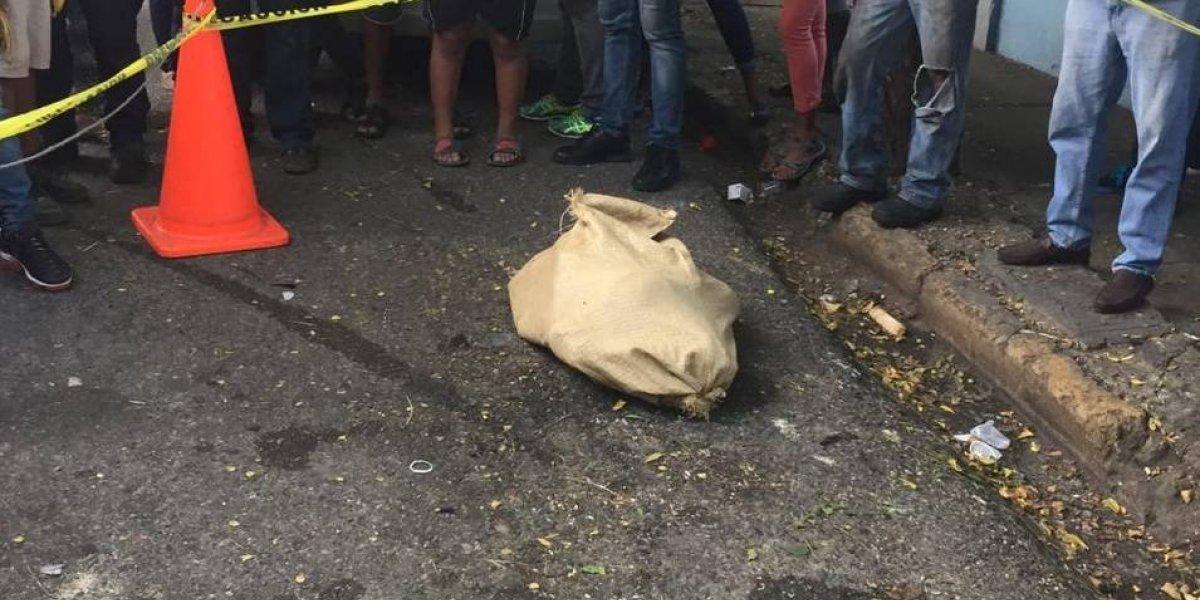 Hallan cadáver de una mujer dentro de un saco en Villa Juana