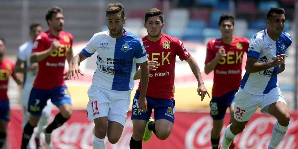 Antofagasta dice adiós al título con pobre empate ante Unión Española