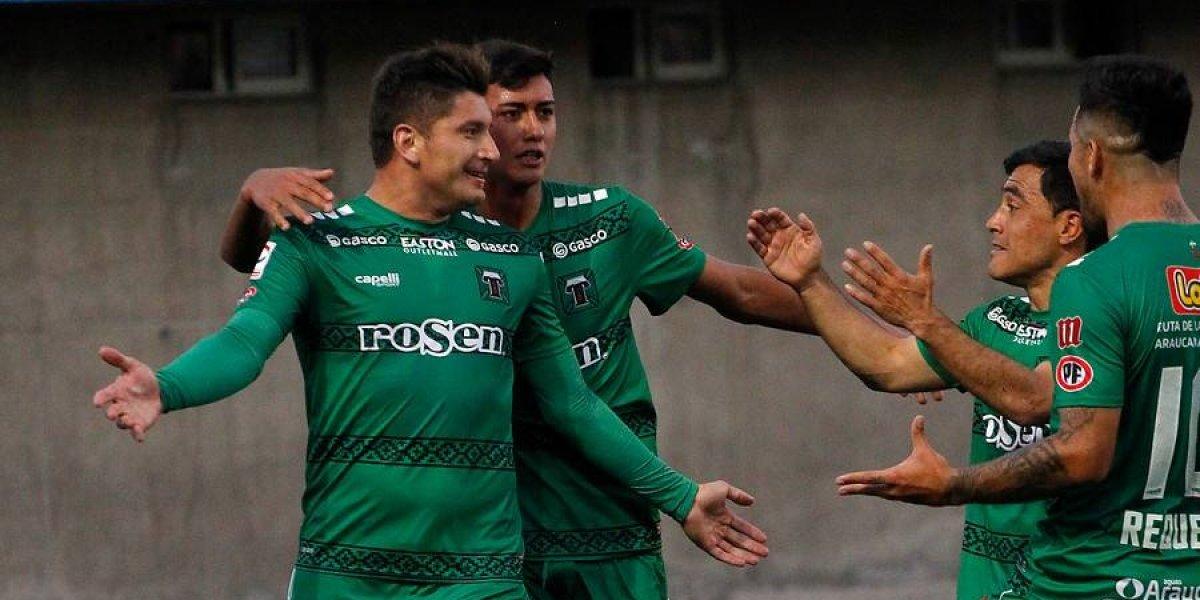 Temuco vence a La Calera, respira una fecha más y deja a San Luis virtualmente descendido