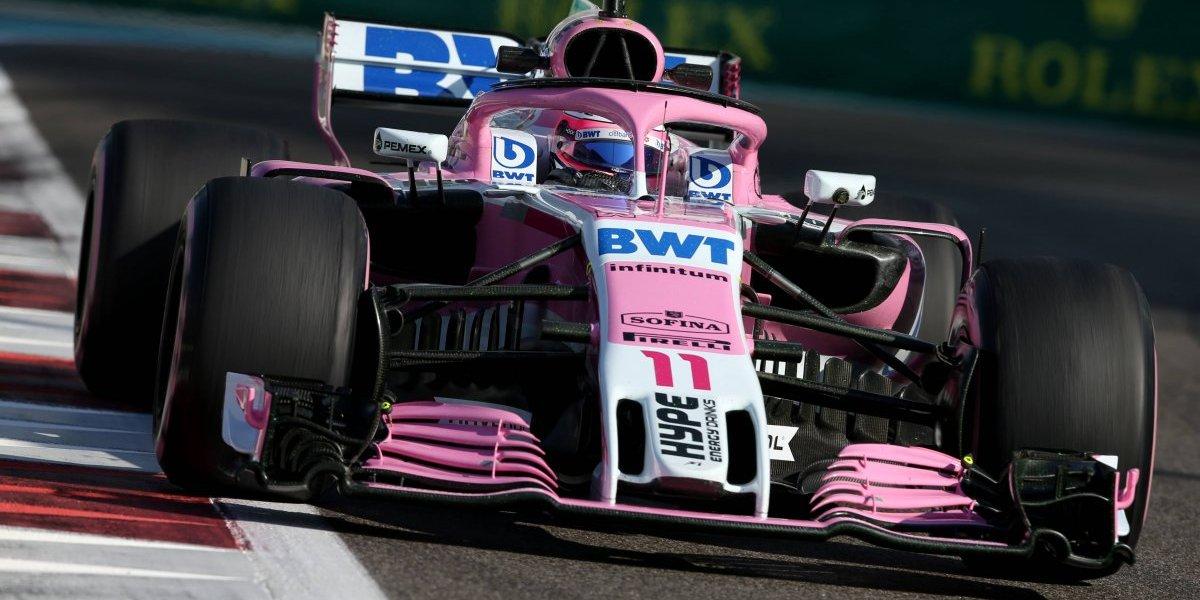 'Checo' Pérez largará desde la posición 14 en el GP de Abu Dabi; Hamilton se quedó con la 'pole'