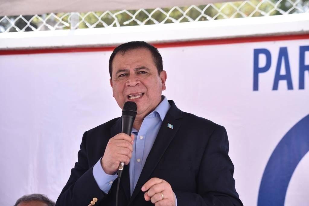 Luis Velásquez Quiroa, dirigente del partido político Unidos. Foto: Omar Solís
