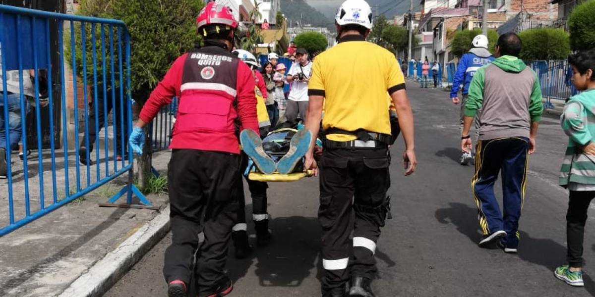 Quito: Dos niños con golpes menores tras carrera de coches de madera
