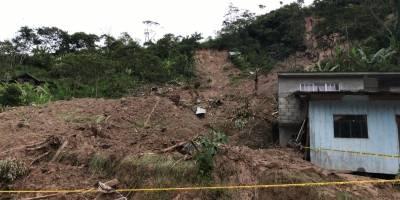 Lluvia torrencial en Limón Indanza causa 9 fallecidos y ocho heridos