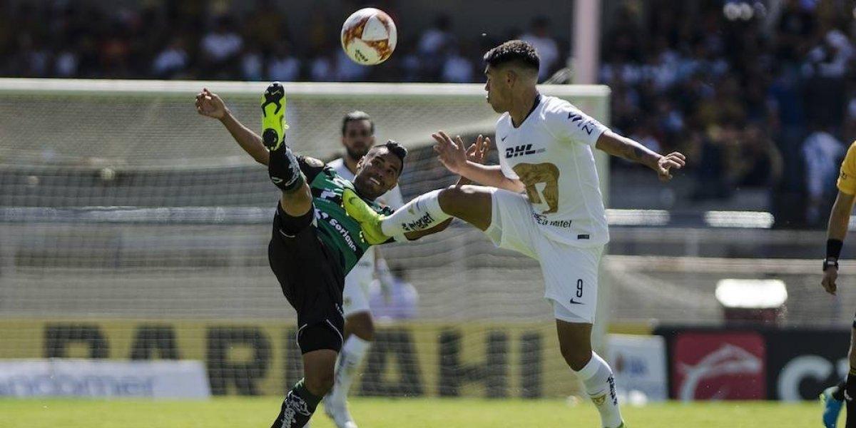 Pumas y Santos dividen puntos en última jornada del Apertura 2018