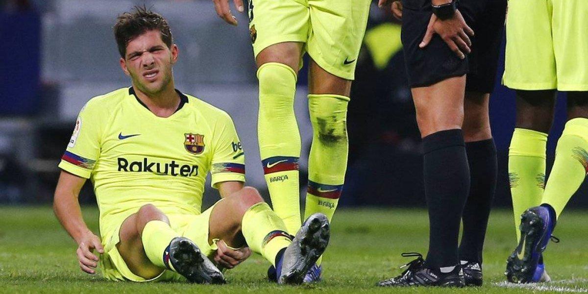 El Barça es un hospital que sumó dos graves lesionados y Vidal podría tomar ventaja como titular