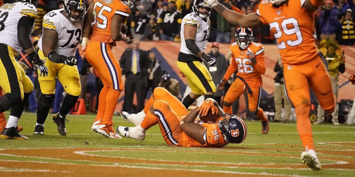 Broncos sorprenden a los Steelers en dramático final