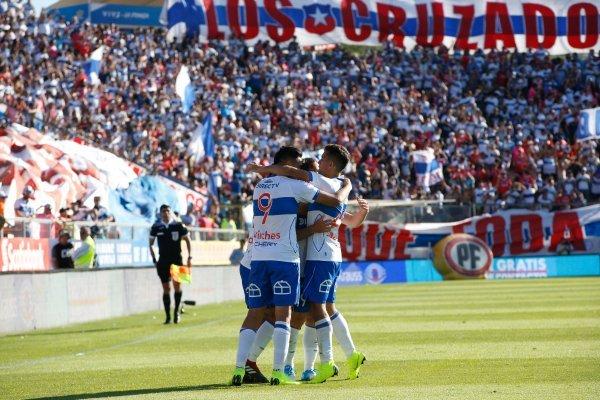 La UC festejó / imagen: Agencia UNO