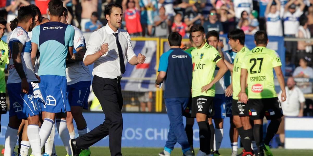 """Beñat no pierde el foco en la UC: """"Es una victoria importantísima, pero ante Temuco es la auténtica final"""""""