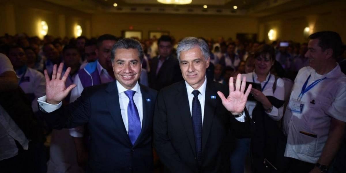 Todos proclama a Freddy Cabrera y Ricardo Sagastume como binomio presidencial