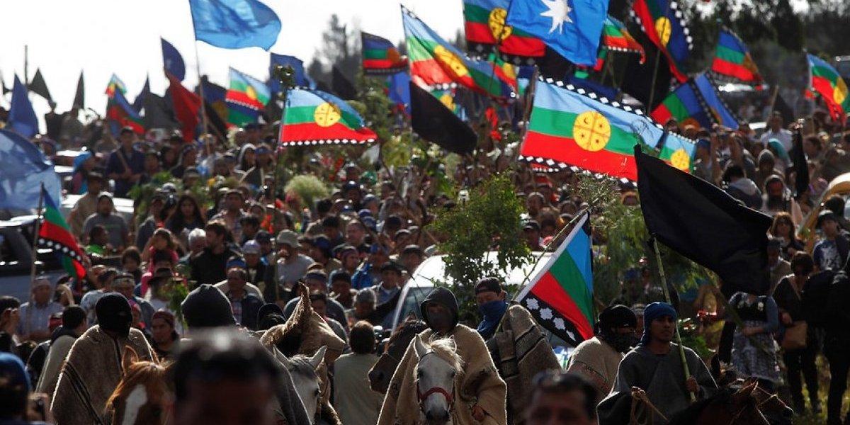Comunidades mapuche anunciaron un mes de manifestaciones: exigen renuncia de Chadwick y Hermes Soto