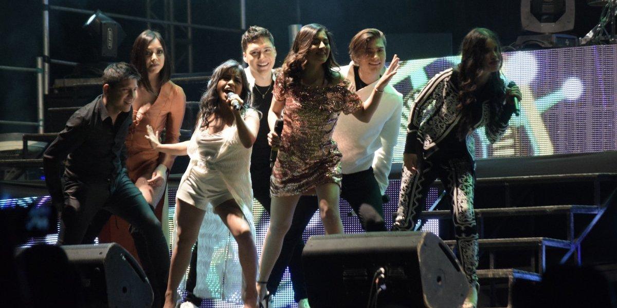 Paola Chuc triunfa en su concierto en Guatemala