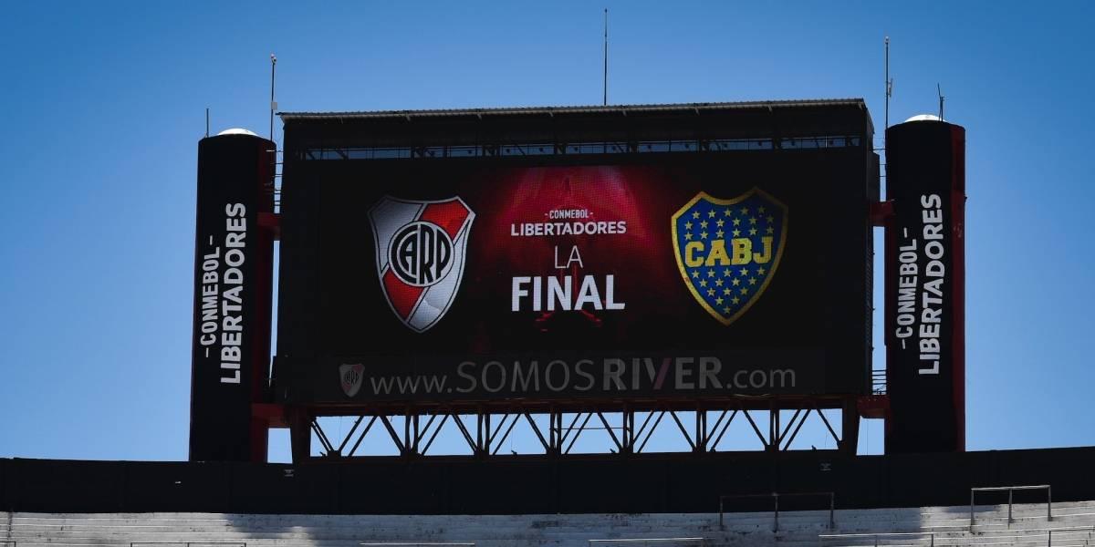 ¿Cuándo se jugaría la final de Copa Libertadores entre River Plate y Boca Juniors?