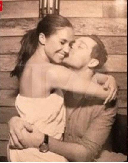 Revelan fotos de la anterior relación Meghan Markle