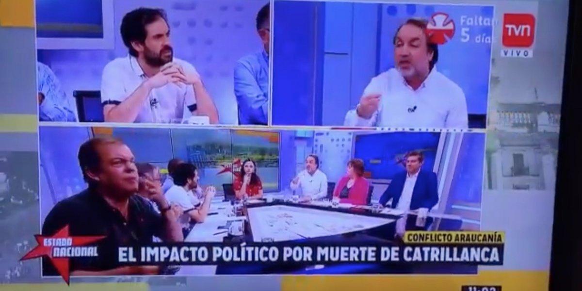 """La desubicada de Francisco Vidal: Pidió en vivo que """"cortaran"""" a panelista para ir a fumar"""