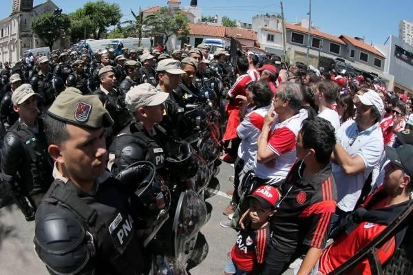 Liberaron a los 30 detenidos por incidentes en final