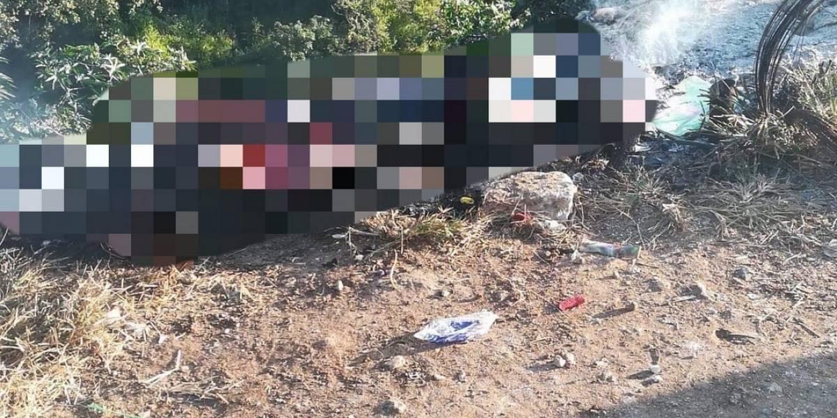 Vecinos se alarman al localizar un cadáver calcinado