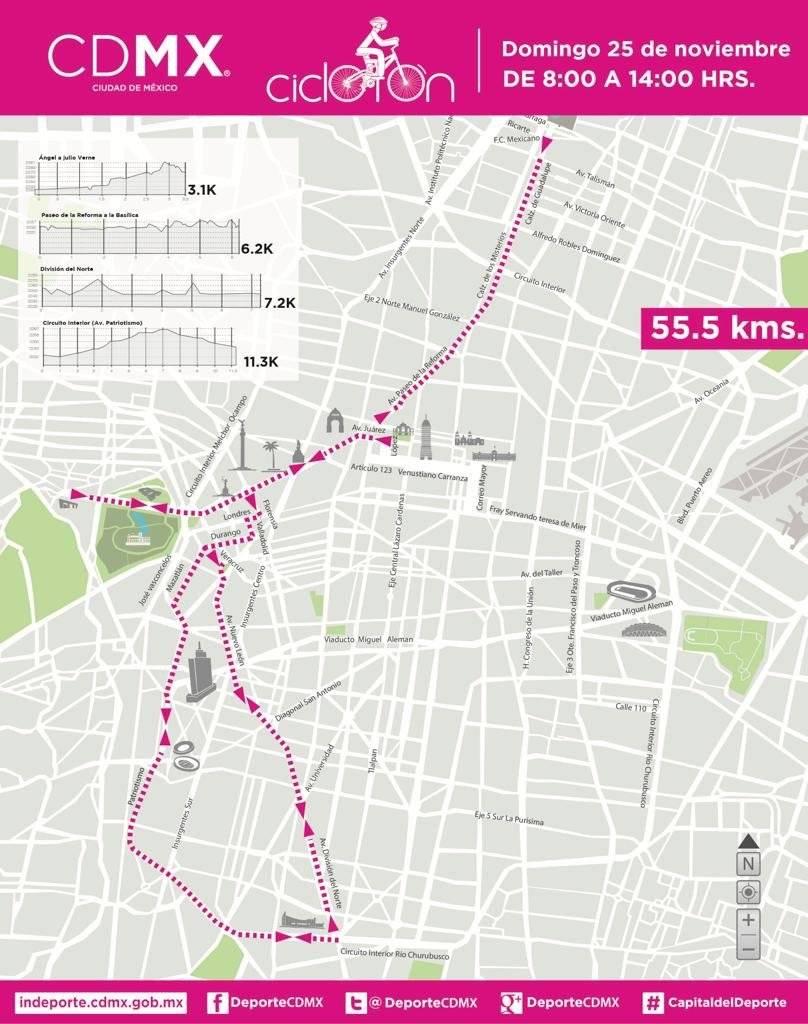 Nueva ruta programada para el 25 de noviembre. Foto: Ciclotón