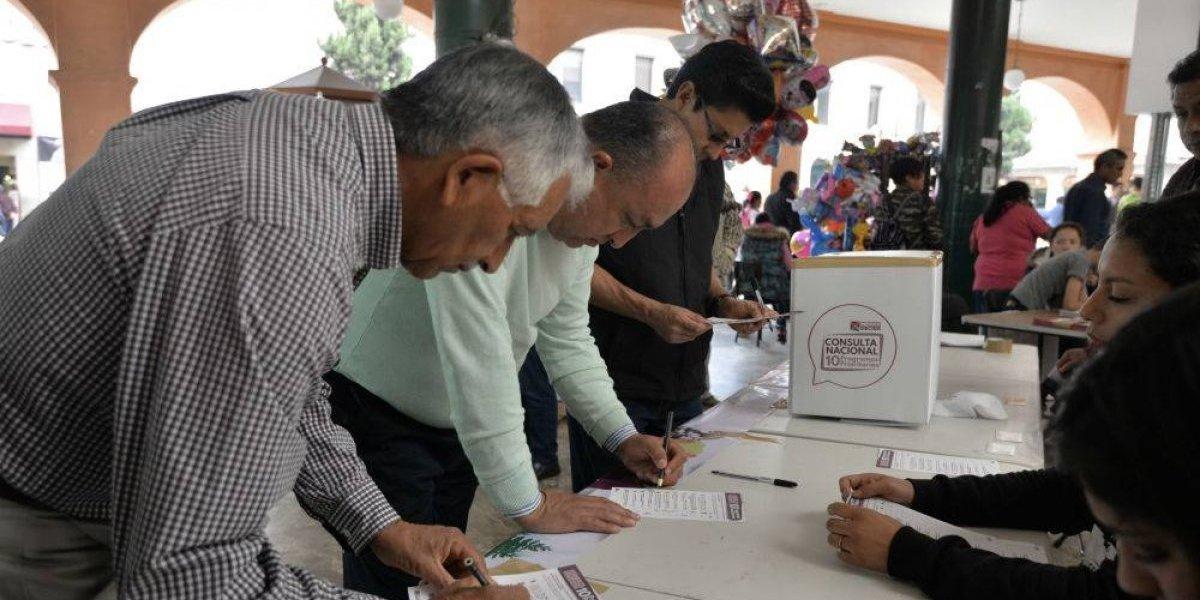 Participan más de 300 mil personas en la Consulta Nacional Programas Prioritarios