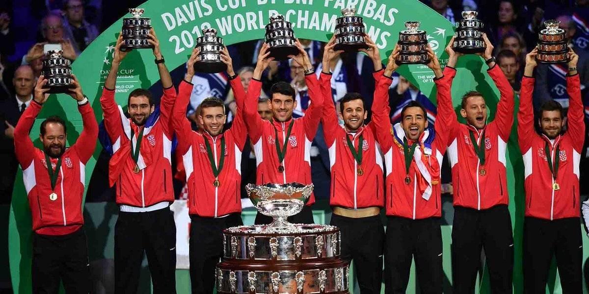 Croacia consiguió su segunda Copa Davis tras derrotar a Francia