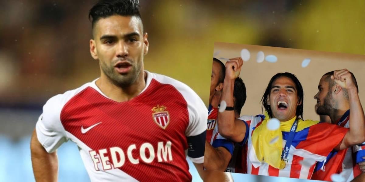 'Siempre es bueno poder volver al estadio del Atlético': Falcao García