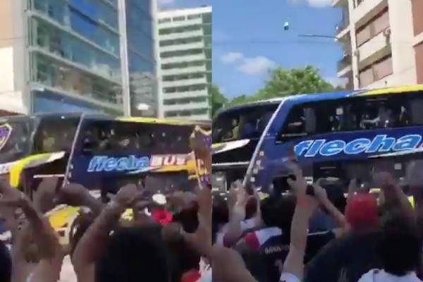 Chofer del micro de Boca Juniors contó detalles del ataque
