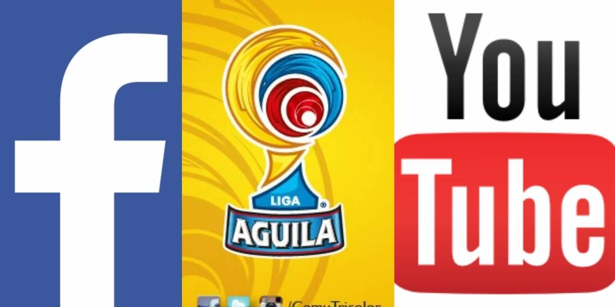 ¡El fútbol profesional colombiano sería transmitido por Facebook y YouTube!