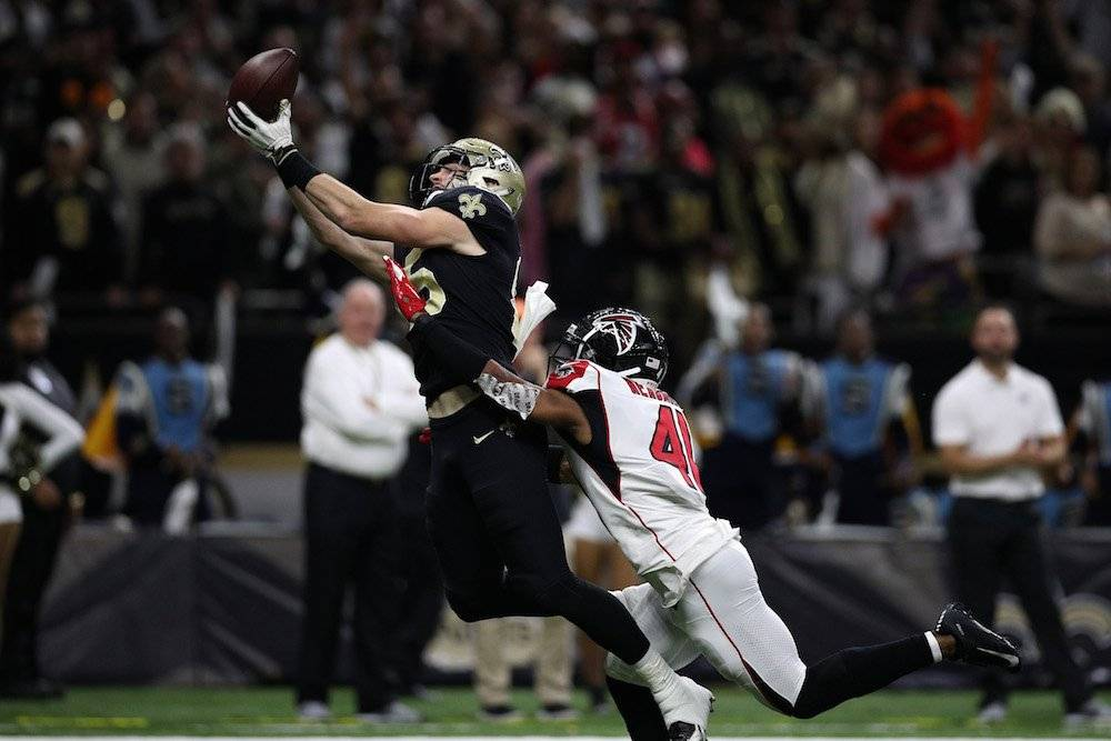 Falcons 17-31 Saints / Getty Images