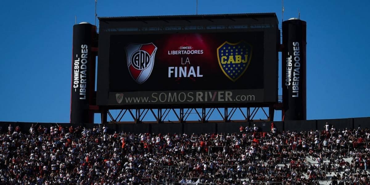 Conmebol posterga la final de la Copa Libertadores entre River Plate y Boca Juniors