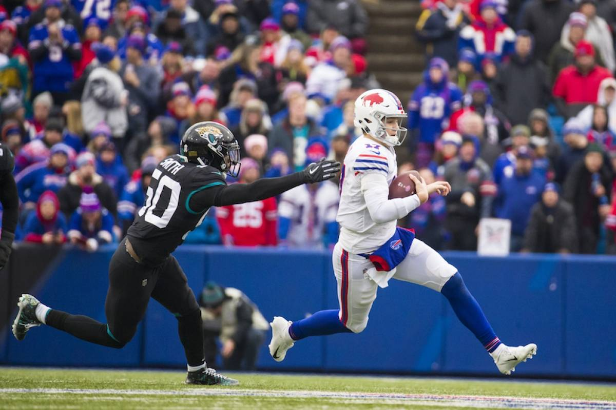 Jaguars 21-24 Bills / Getty Images