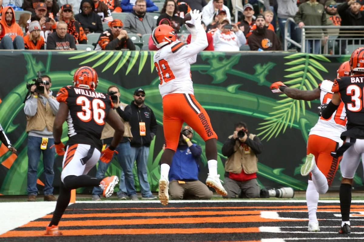 Browns 35-20 Bengals / Getty Images