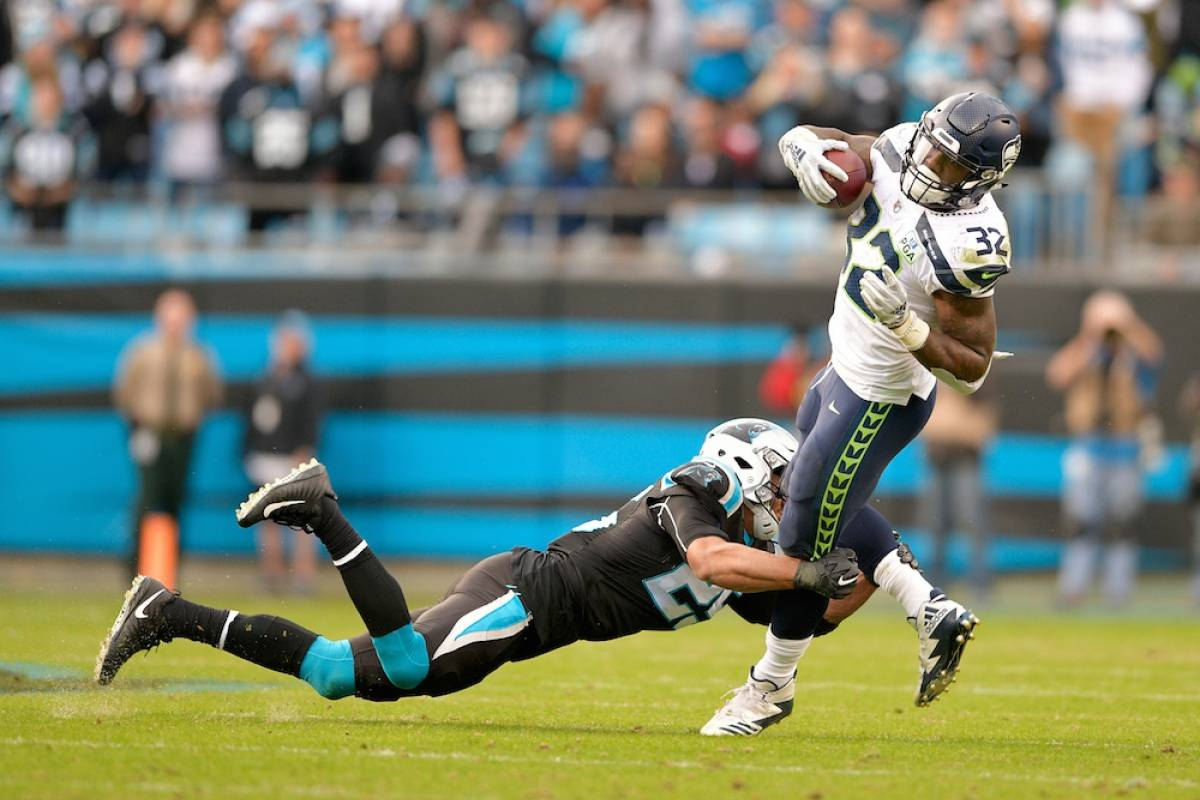 Seahawks 30-27 Panthers / Getty Images