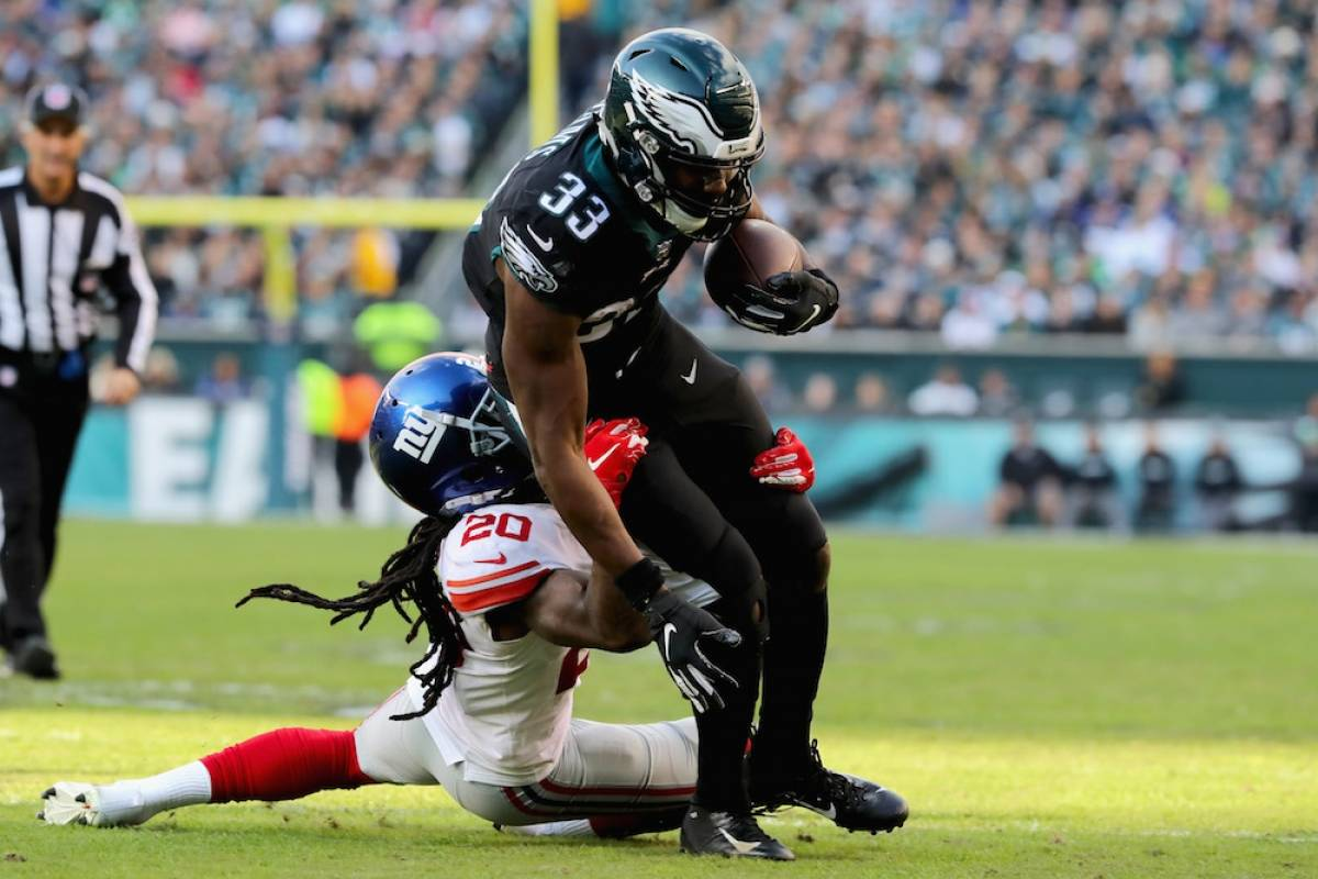Giants 22-25 Eagles / Getty Images