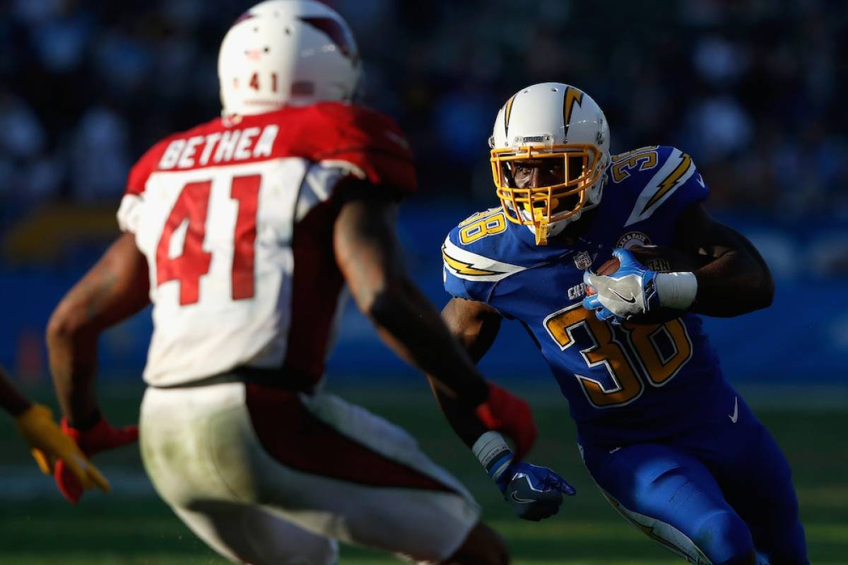 Cardinals 10-45 Chargers / Getty Images