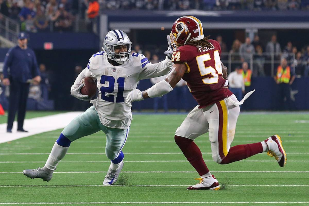 Redskins 23-31 Cowboys / Getty Images