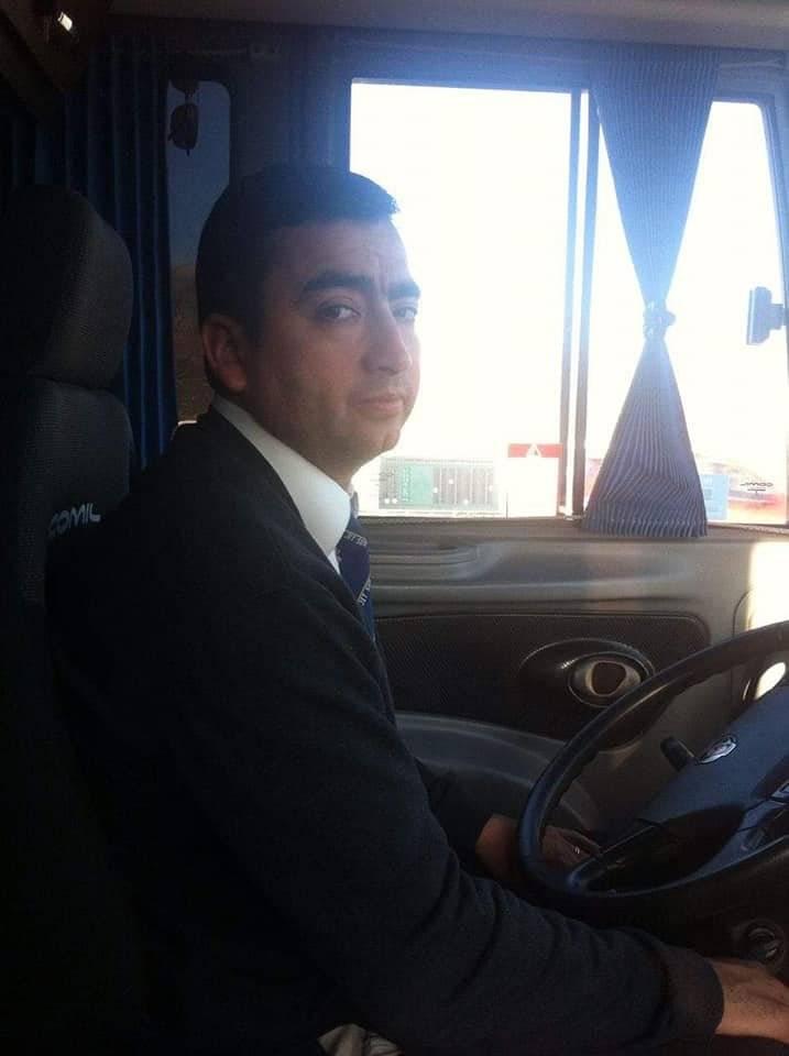 Héctor Carrasco, el conductor que perdió un ojo tras un ataque con piedras / Captura de redes sociales
