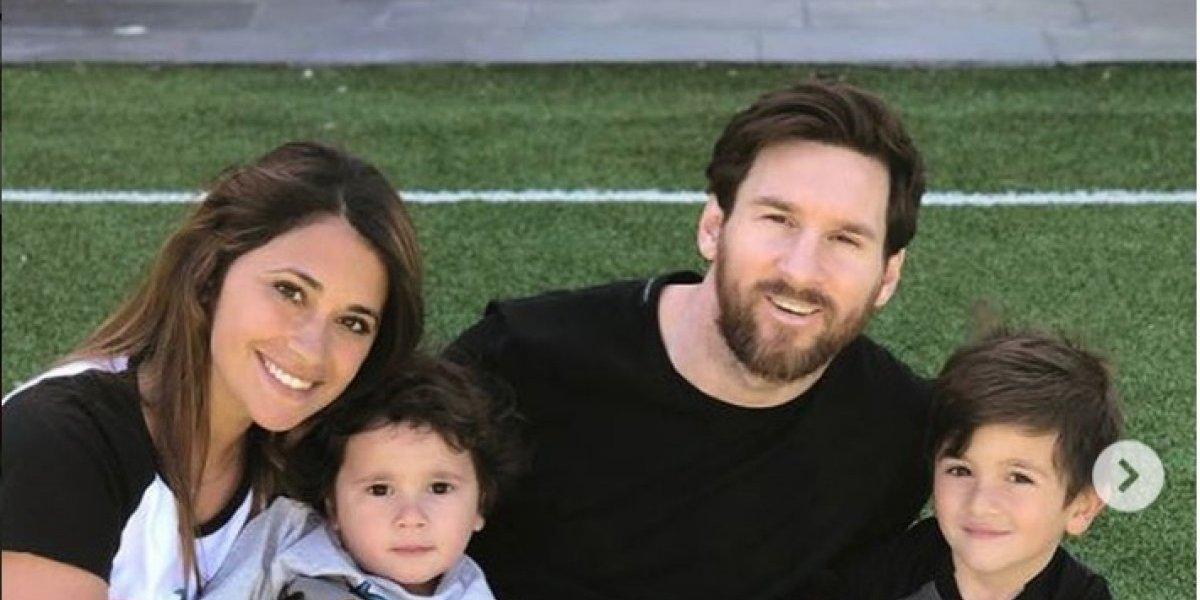 El bailecito de Mateo Messi que enloqueció a las redes sociales
