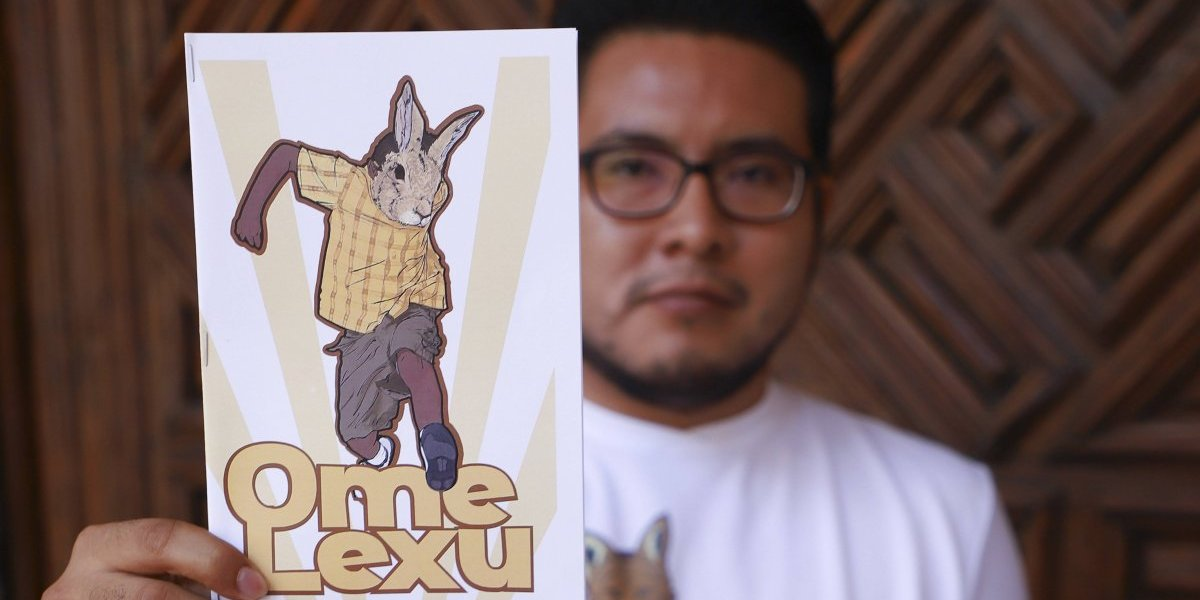 Hombre Conejo, el superhéroe que fomenta las lenguas indígenas