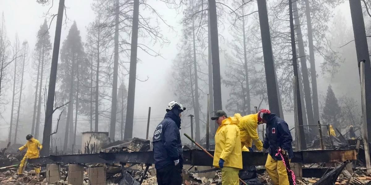 Logran contener el incendio forestal más mortífero en un siglo en el norte de California