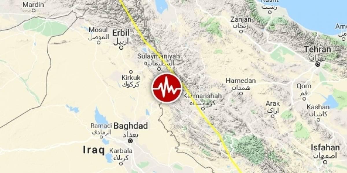 Sismo de magnitud 6.4 deja cientos de heridos en Irán