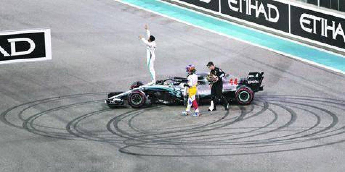 Lewis Hamilton cerró la temporada ganando más de la mitad de las carreras