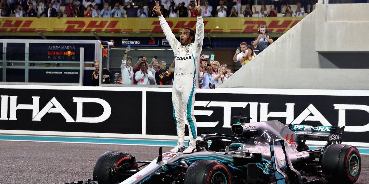 'Checo' Pérez termina en octavo; Hamilton cierra el 2018 con victoria en el GP de Abu Dabi