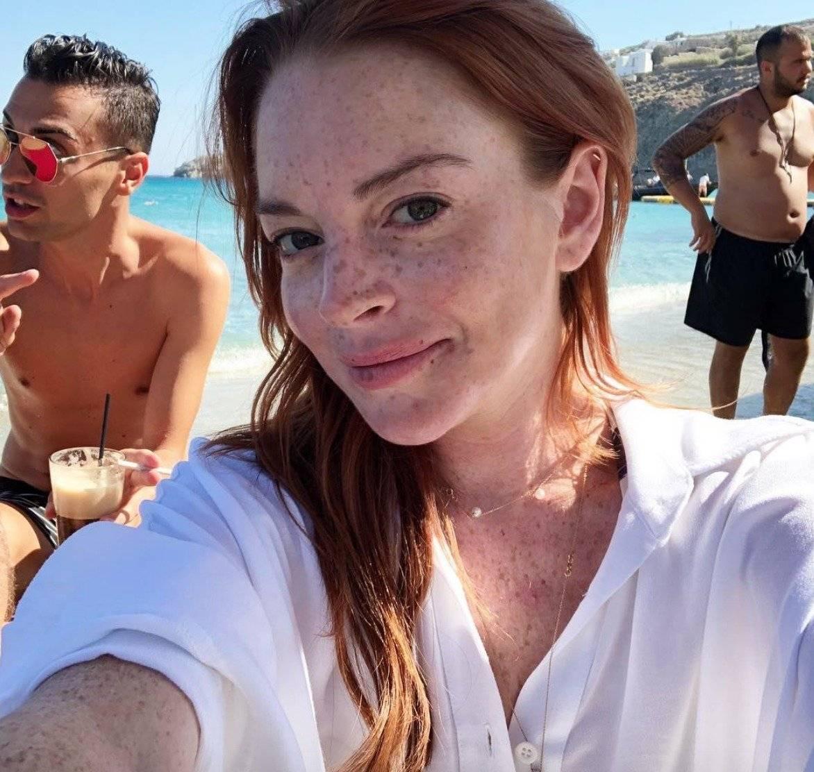 Lindsay Lohan tiene 32 años de edad y ha sido criticada por su aspecto físico Instagram