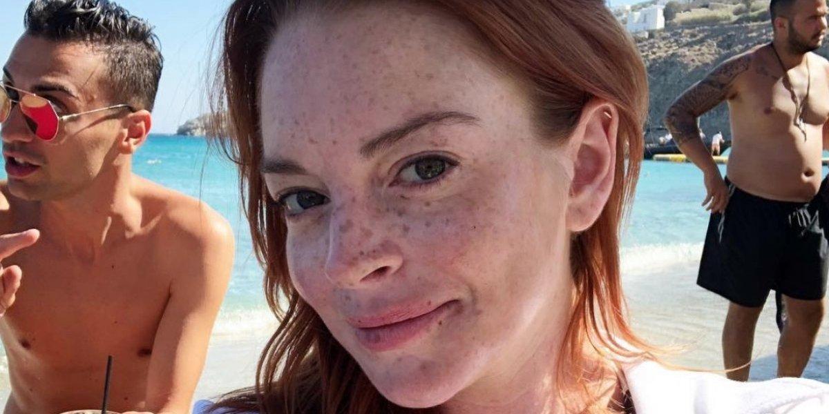 Lindsay Lohan coquetea con ex de Kylie Jenner