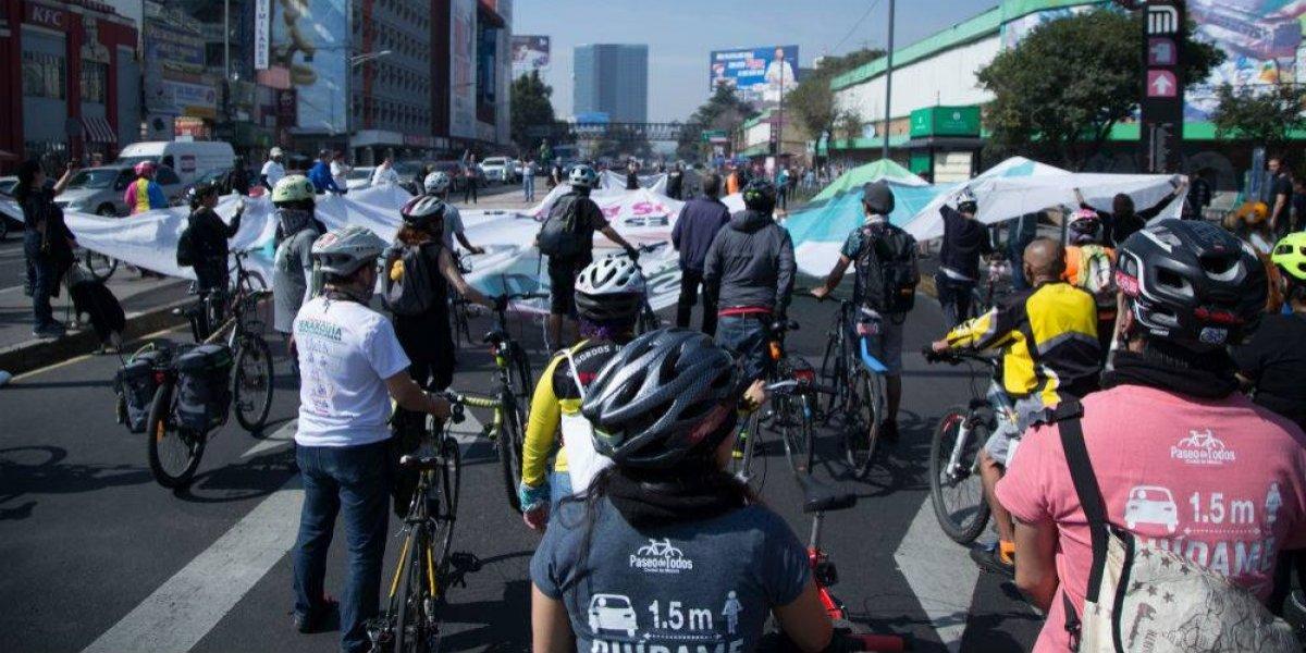 Ciclistas marchan para pedir mayores medidas de seguridad