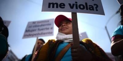 Marcha por Día Internacional de la Eliminación de la Violencia contra la Mujer