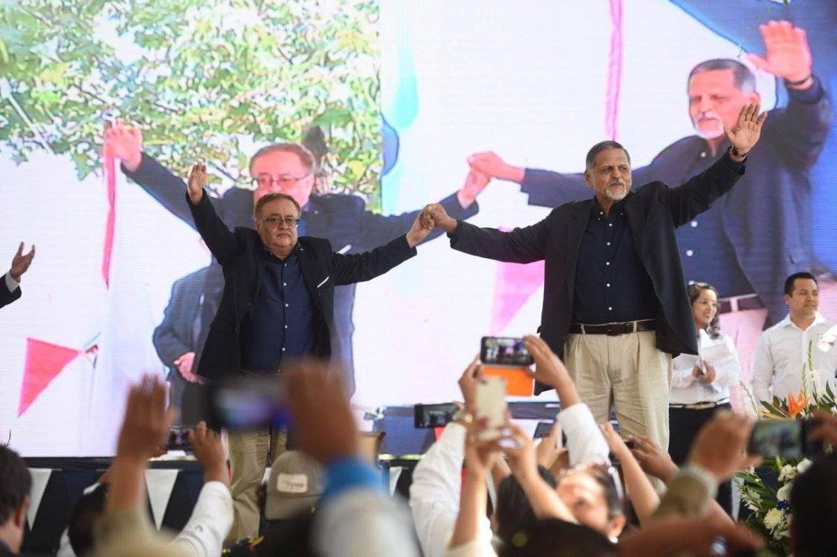 Fuerza participará en las elecciones de 2019 con el binomio presidencial conformado por Mauricio Radford y Manuel Maldonado. Foto: Edwin Bercián
