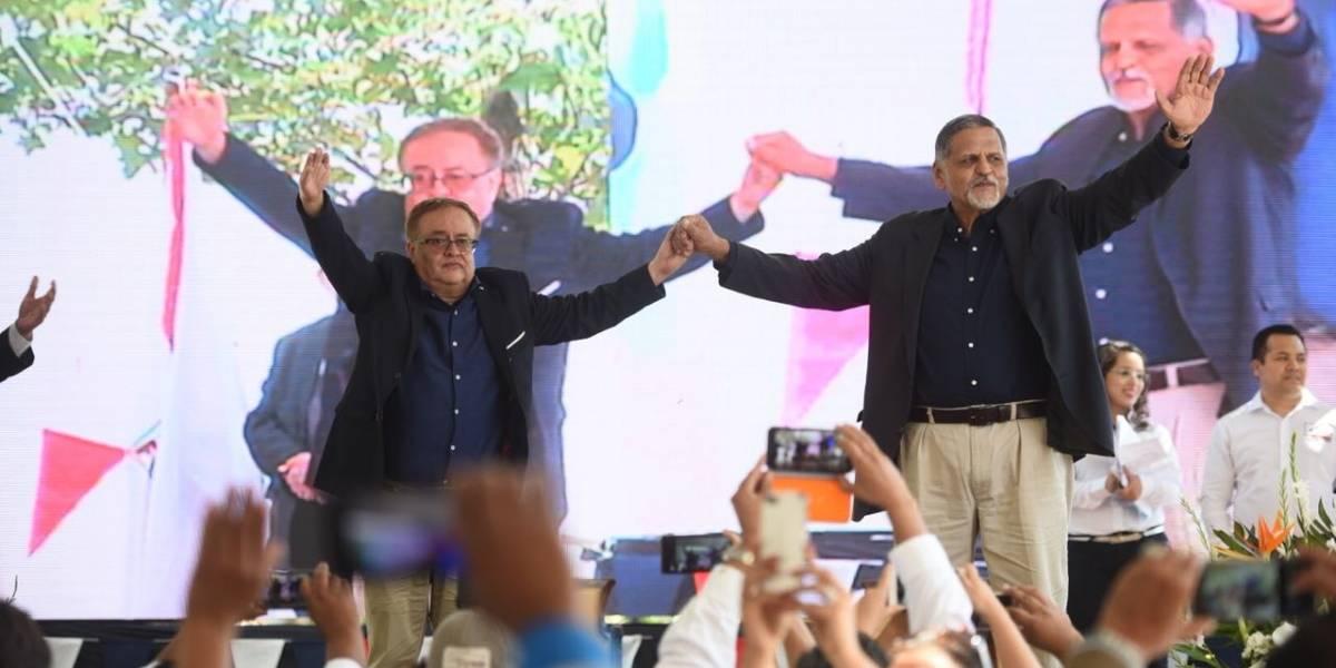 Partido Fuerza proclama a su binomio presidencial